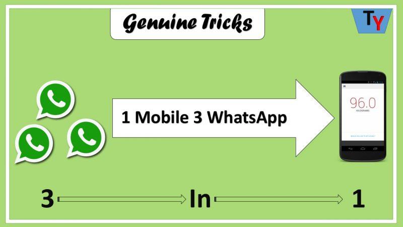 3 in 1 whatsapp