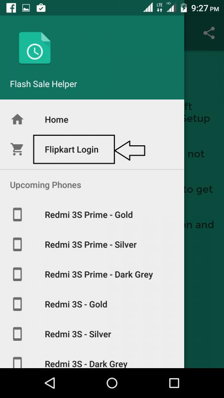 login to flipkart account