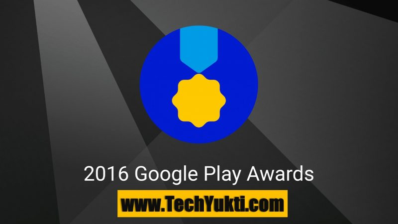 Google Play Store Award 2016