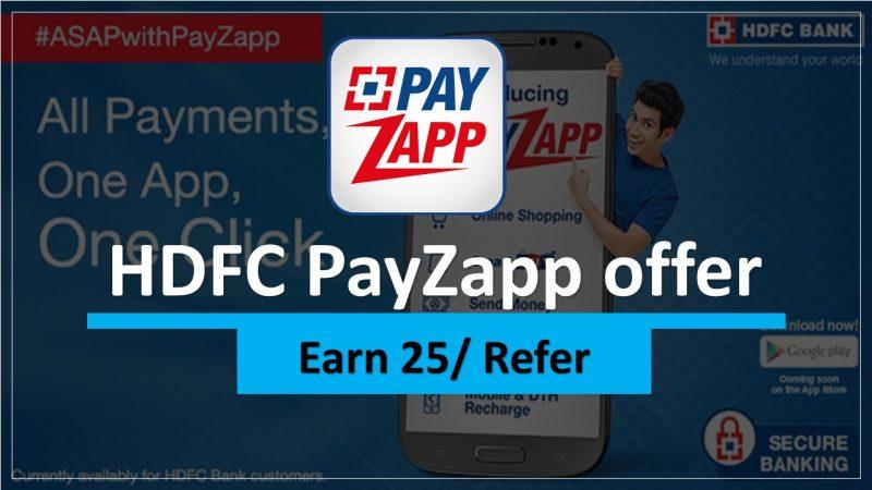 HDFC PayzApp Offer
