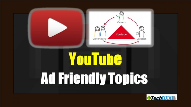 Ads Friendly Topics for Youtube Videos | Hindi