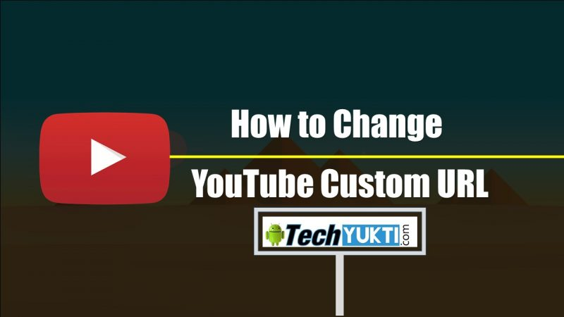 Youtube Custom URL