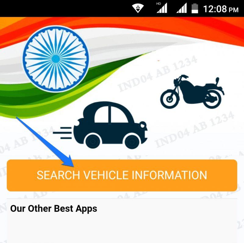 Open Vechicle Info App