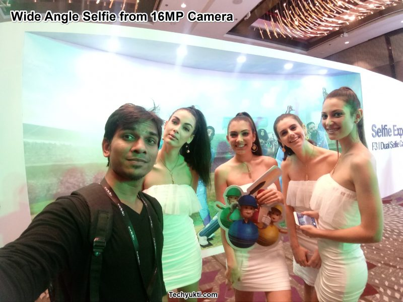 Wide Angle Selfie From 16mp Camera sample