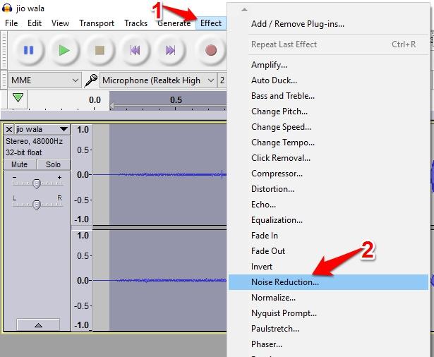 audio editing step 4
