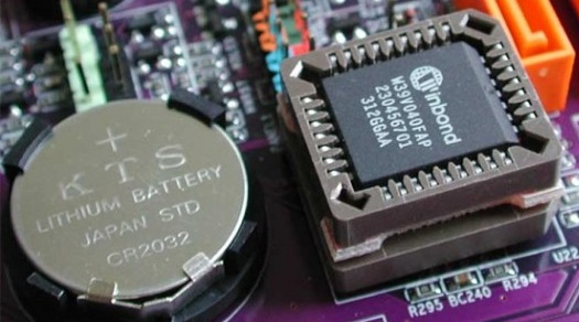 bios chin and cmos battery