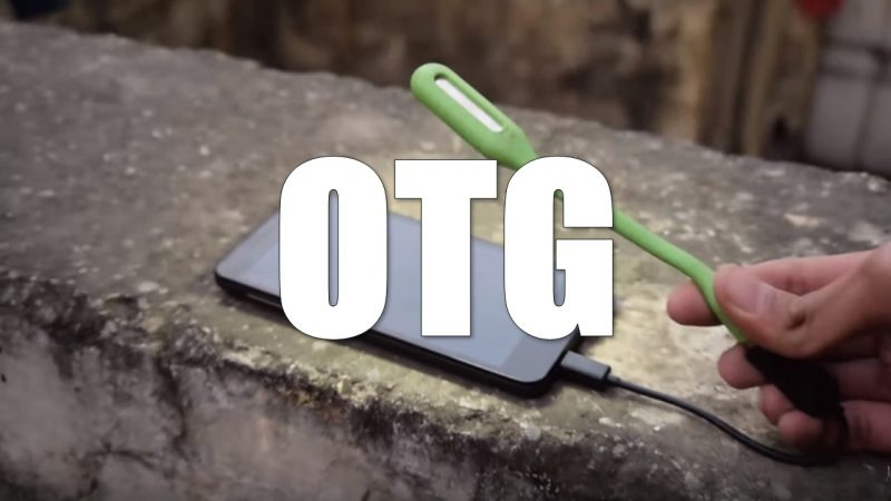 OTG Cable Use