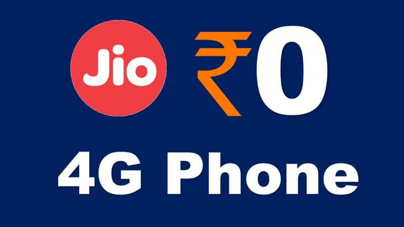 Reliance Jio 4G Phone Free