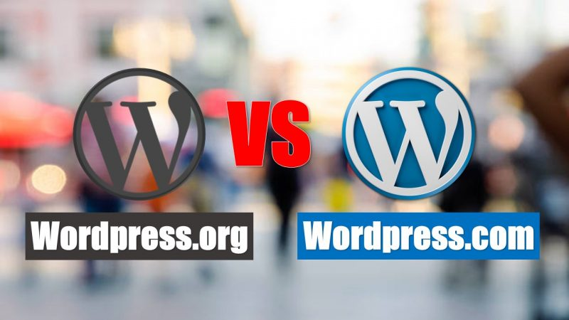 WordPress.com Vs WordPress.org Full Comparison in Hindi