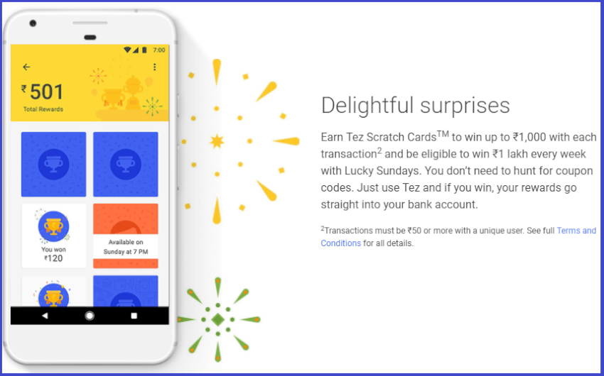Google tez refer and earn offer