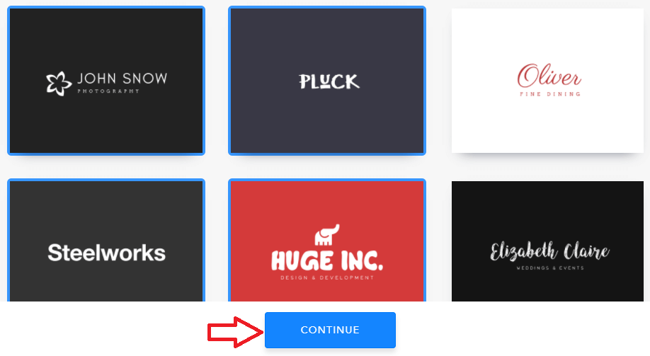 select sample Logos