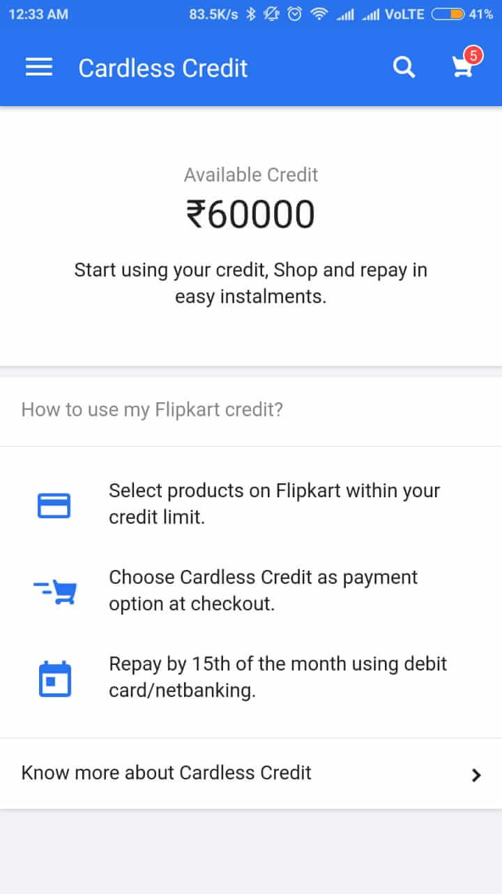 Cardless Payment 2