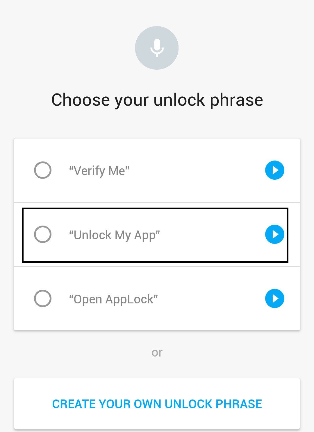 applock setup 2