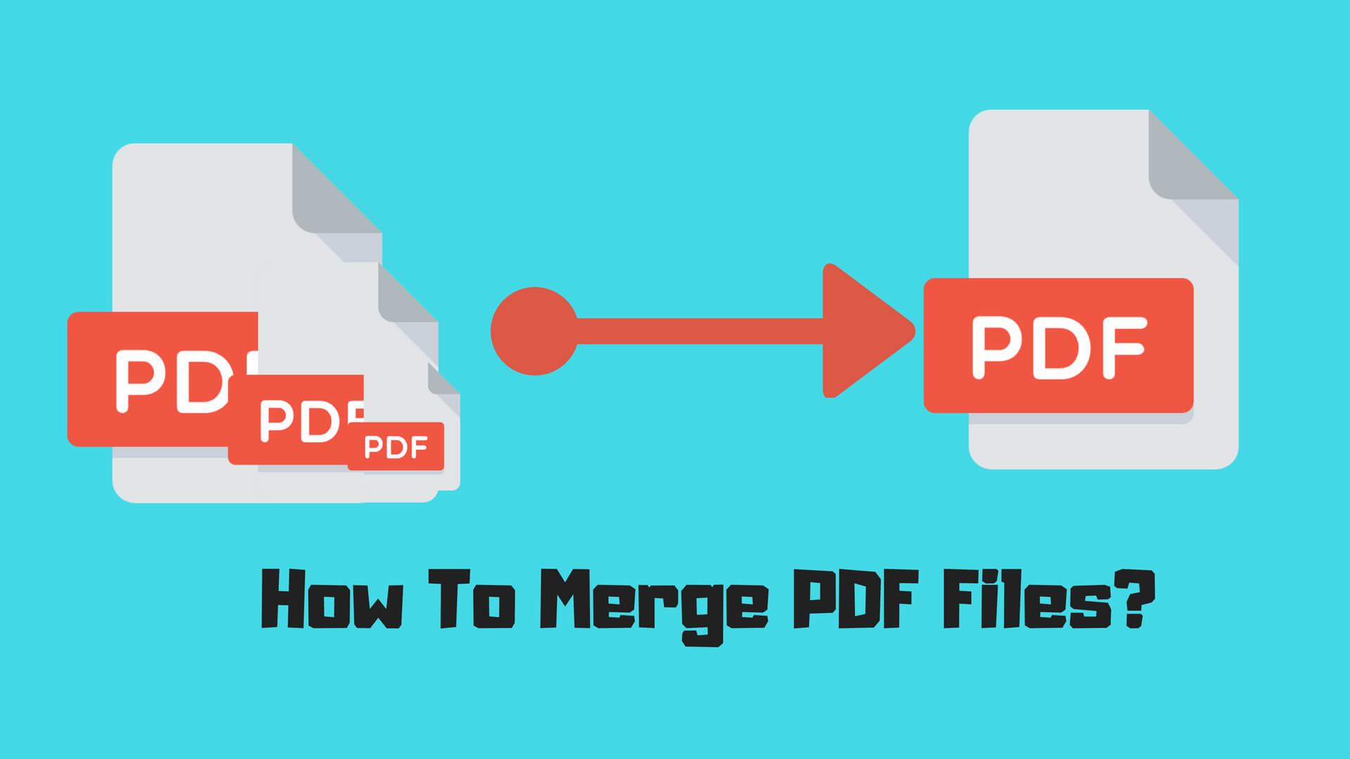 How To Merge PDF Files_