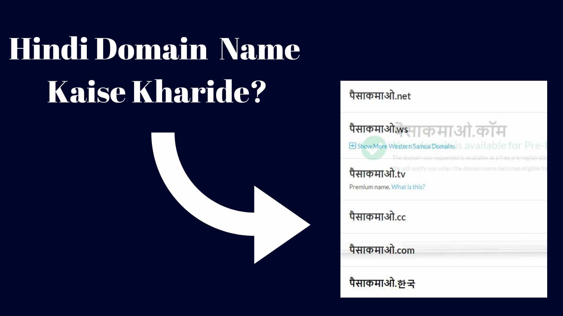 domain in hindi