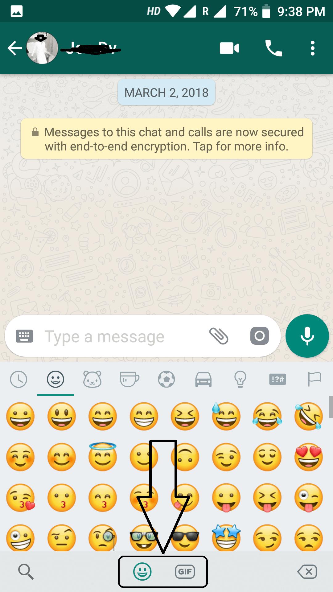 old version whatsapp