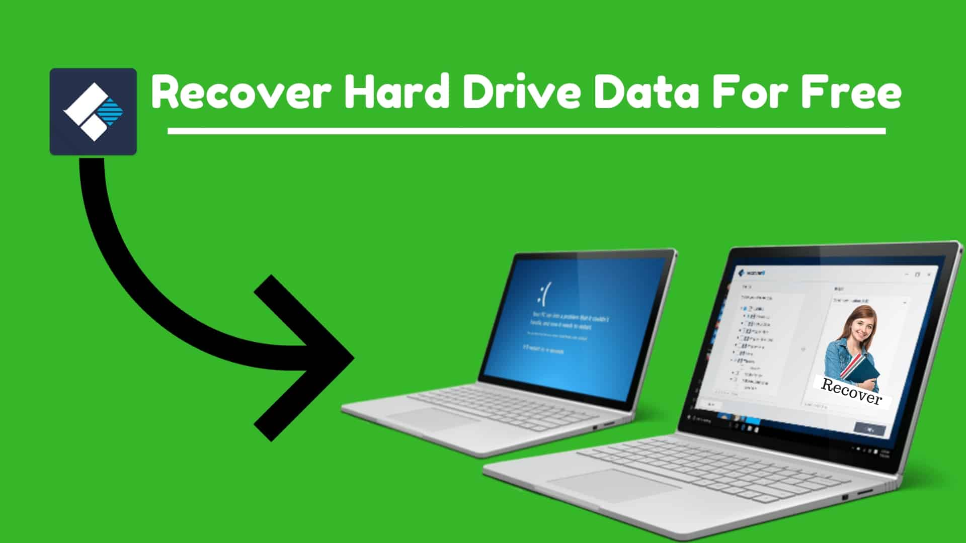 How to Recover Hard Drive Data For Free? (Hindi)