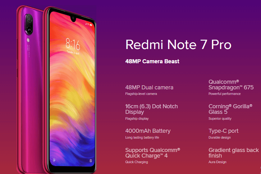 redmi note 7 pro overview