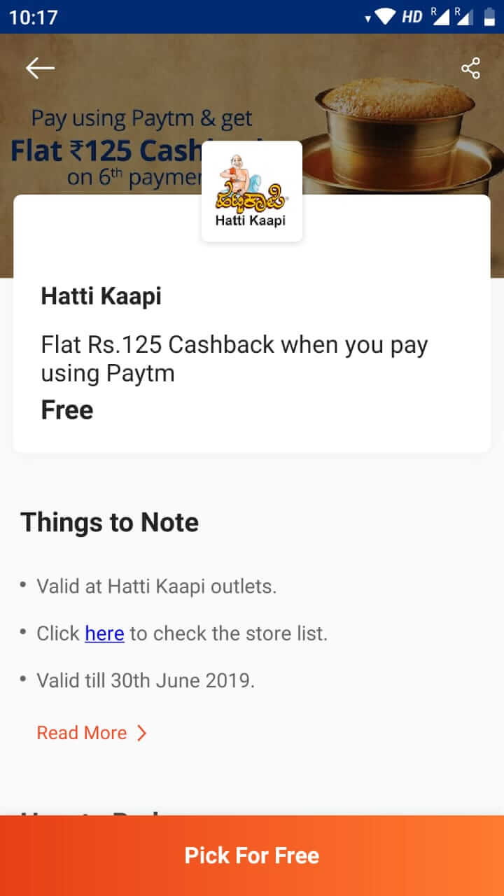 paytm free deals